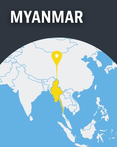 Myanmar Map
