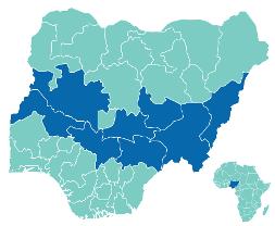 Nigeria's  'Middle-Belt' states