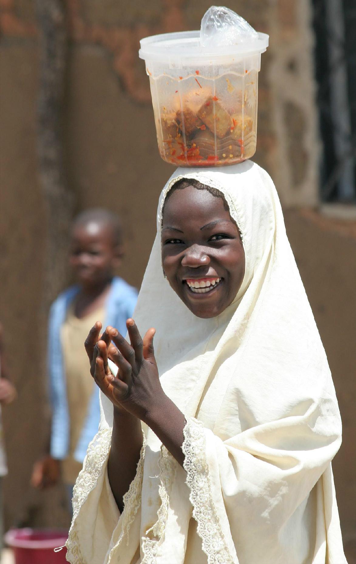Girl, Northern Nigeria.
