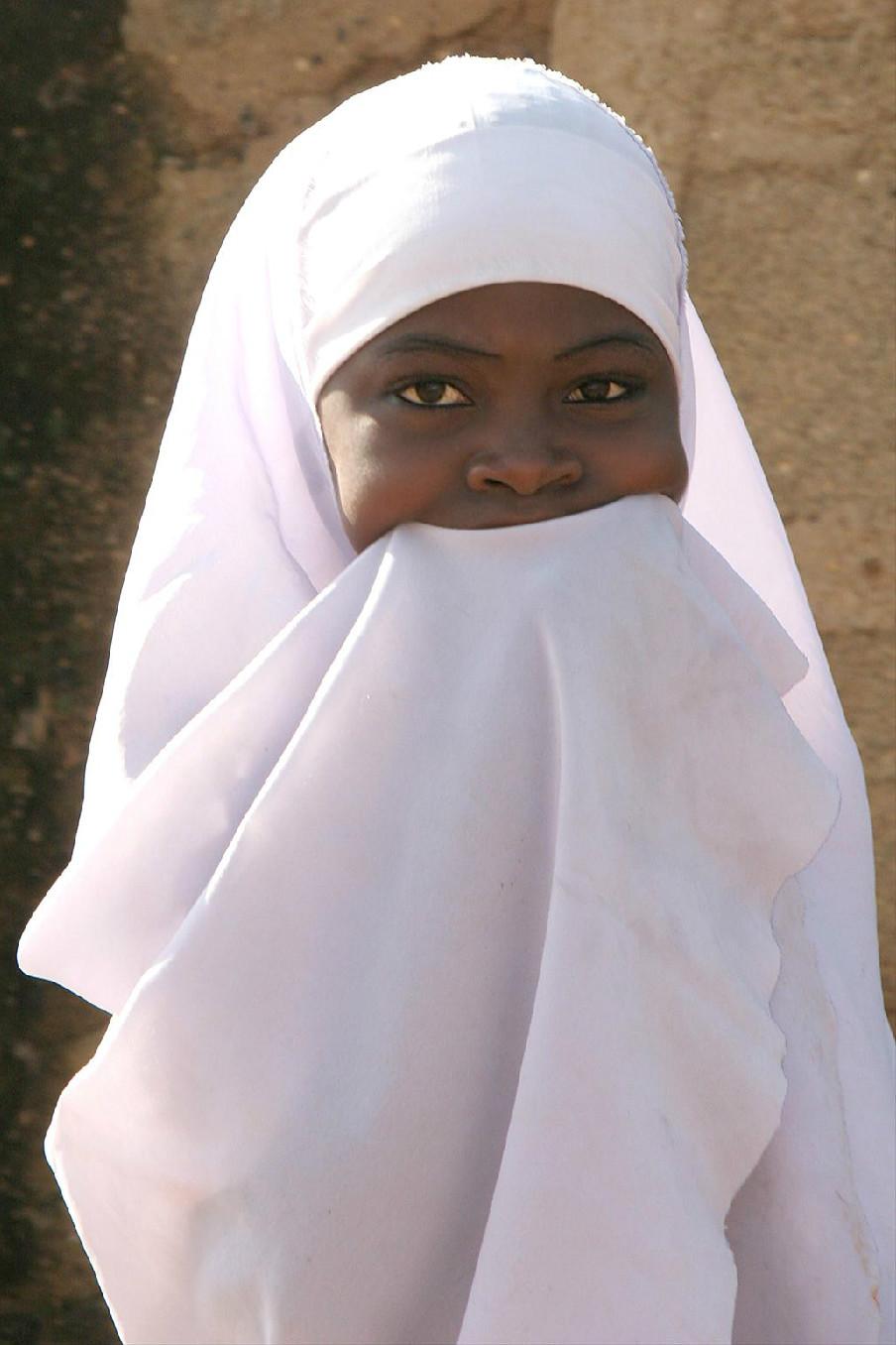 Bauchi girl, Northern Nigeria.