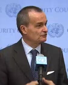 Gerard Araud, French ambassador to the UN.