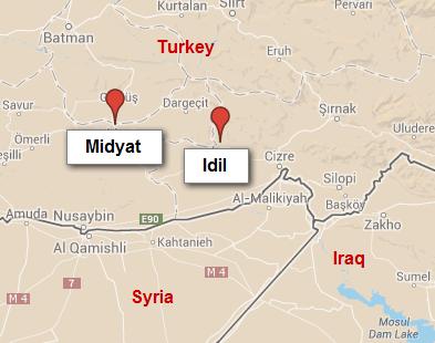 Midyat and Idil, Turkey