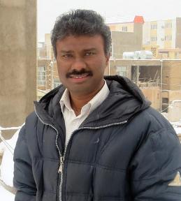 Rev. Alexis Prem Kumar before the abduction.
