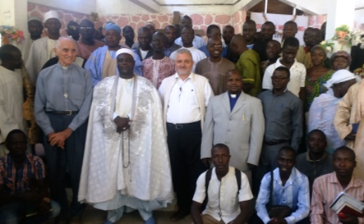 A multi-faith gathering in Mora to discuss tolerance in the face of the threat from Boko Haram.