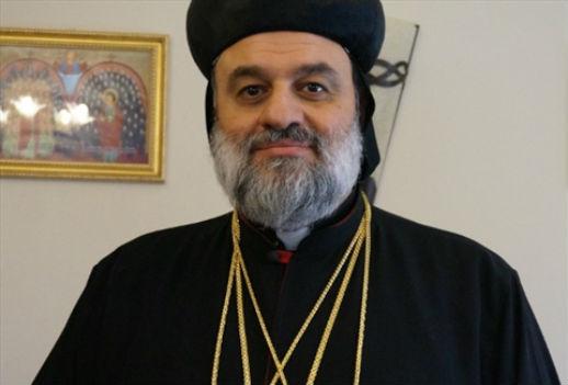 Archive photo of Syriac Orthodox Church Patriarch of Antioch Mor Ignatius Aphrem II