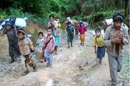 Fleeing from violence: Kachin Christians Dec 2011