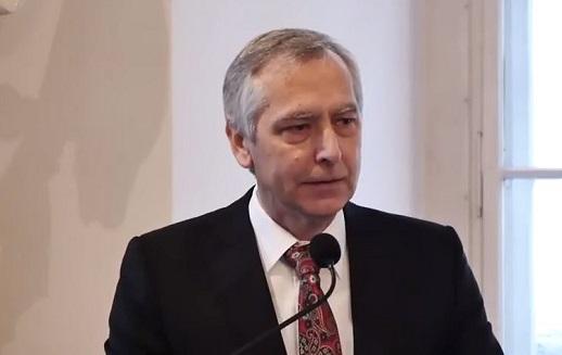 Ján Figeľ, speaking at the event in Vienna on Saturday (26 Nov.).