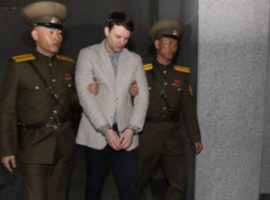 North Korea sentences American to 15 years' labour