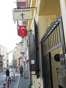 The Izmir Dirilis (Resurrection) Church, where Andrew Brunson is the pastor.