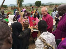 Archbishop of Canterbury in Sudan, 29 July, 2017 (Credit: Archbishop of Canterbury)