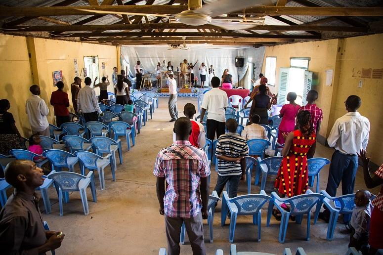 A church service in Garissa in a 2016 photo.