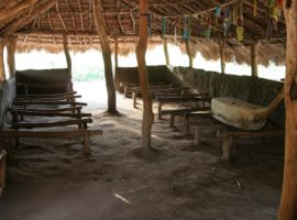 Village church in Goli, South Sudan. (Photo: World Watch Monitor)