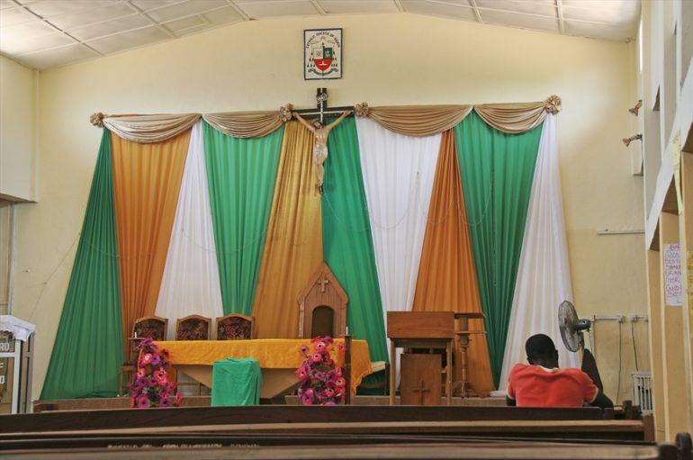 Altar in the Catholic Church in Bauchi, northeast Nigeria. (Photo: World Watch Monitor, 2010)