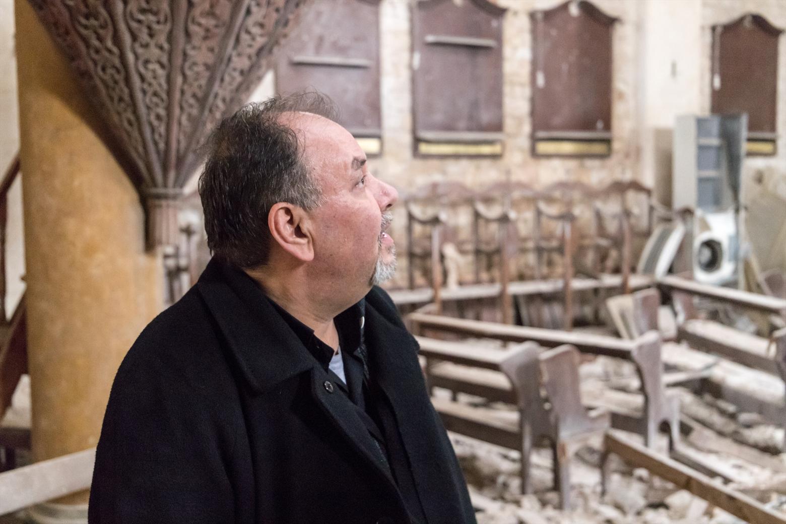 Fr. Ghassan Ward (Courtesy Open Doors International)