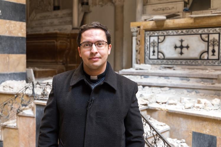 Fr. Toni Tahan (Open Doors International)
