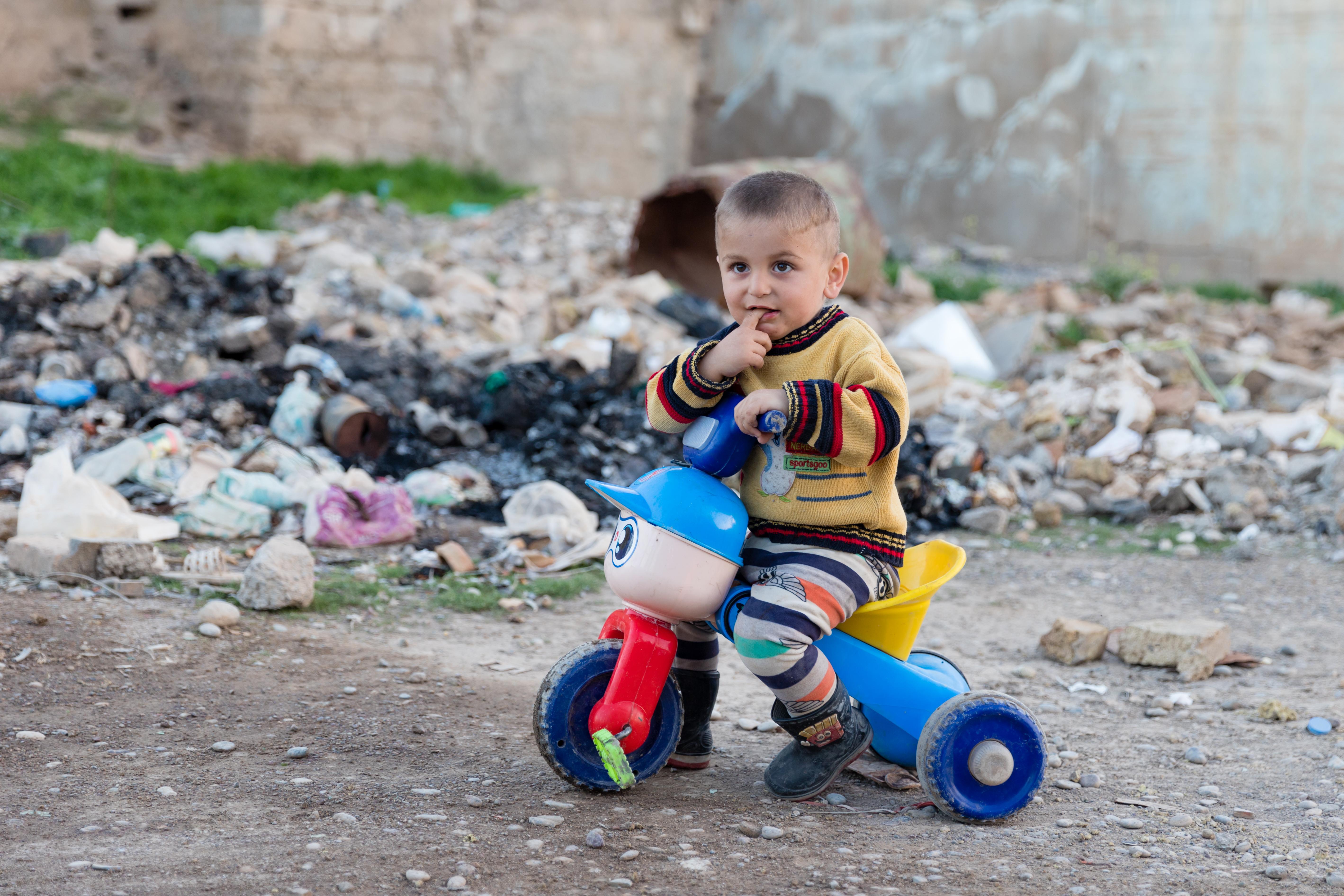 The streets of Qaraqosh are still full of rubble (World Watch Monitor)