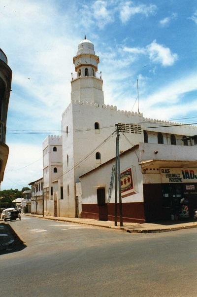 Mosque in Diego Suarez, in the far north of Madagascar. (Photo Leonora Ellie Enking via Flickr CC 2.0)